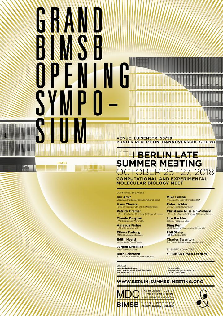 Poster of the Berlin Summer Meeting 2018 (v11)