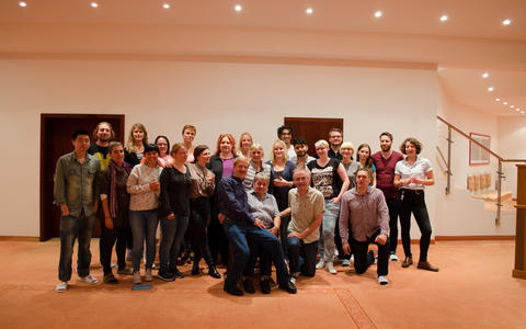 The group at our latest retreat in 2015 in Zinnowitz