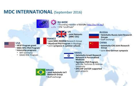MDC International Cooperations