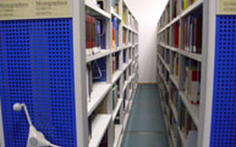 open-stack room for monographs