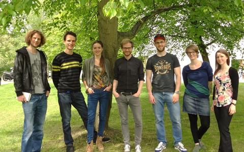 PhD Representatives: Matti, Markus, Cornelia, Harm, Tristan, Dhana and Linda
