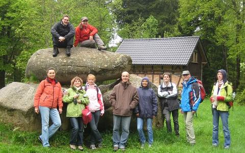 The group in Brocken in May 2010