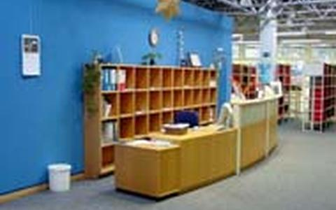 Reference Section and Lending Desk