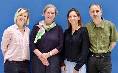 The MyoPax team: Janine Kieshauer, Simone Spuler, Verena Schöwel and Andreas Marg
