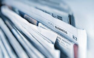 Stock Photo newspapers