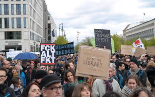 Der March for Science in Berlin 2017