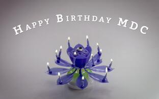 Happy birthday, MDC