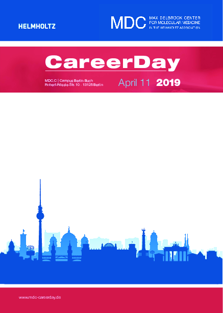 Program of the MDC Career Day 2019