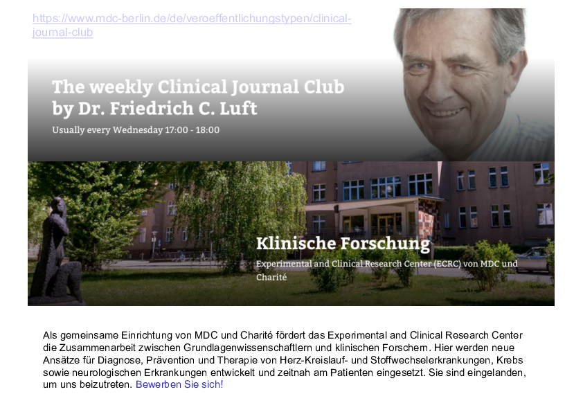 Presentation - Clinical Journal Club - June 3, 2020