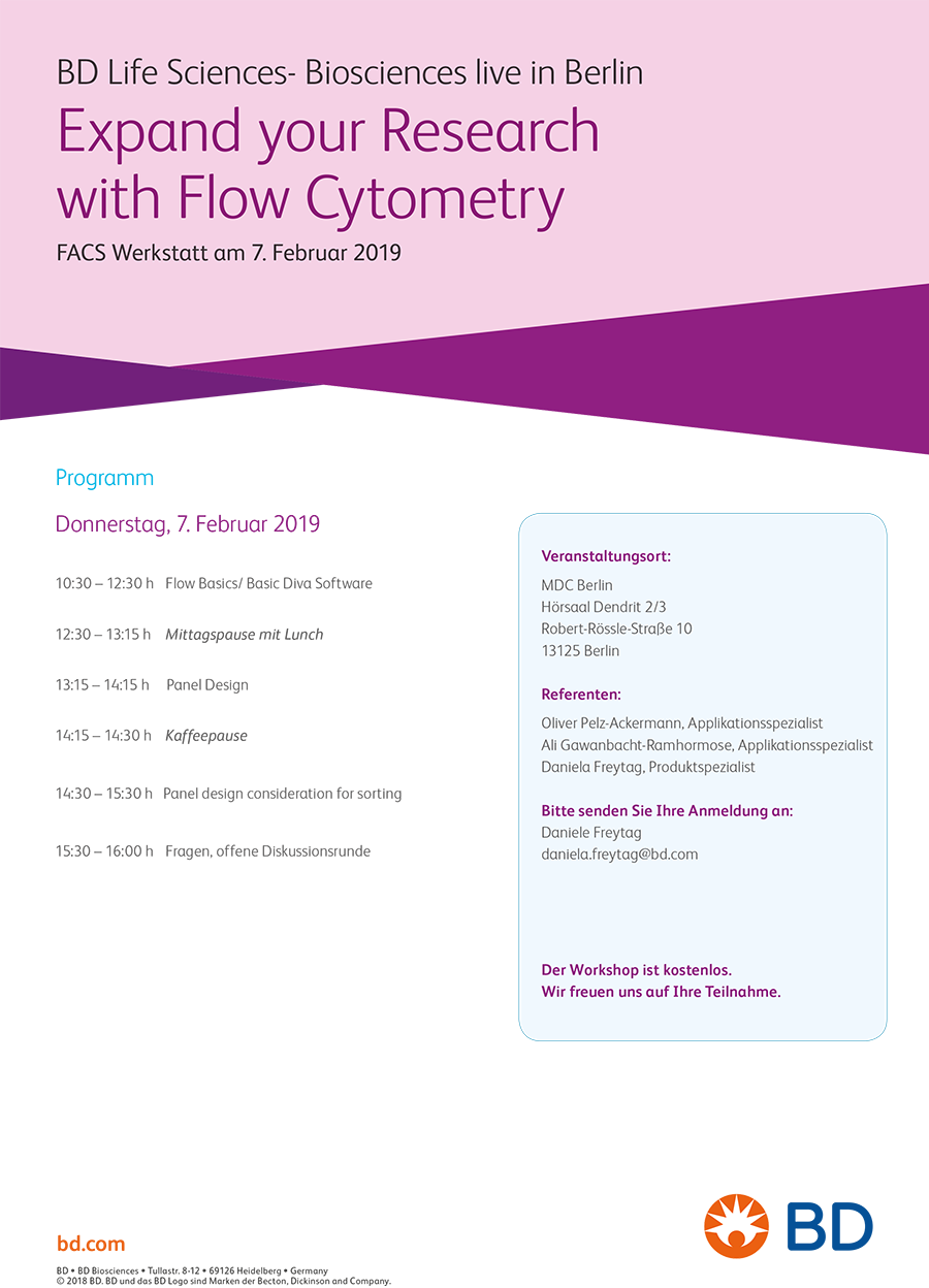 Expand your Research with Flow Cytometry | MDC Berlin